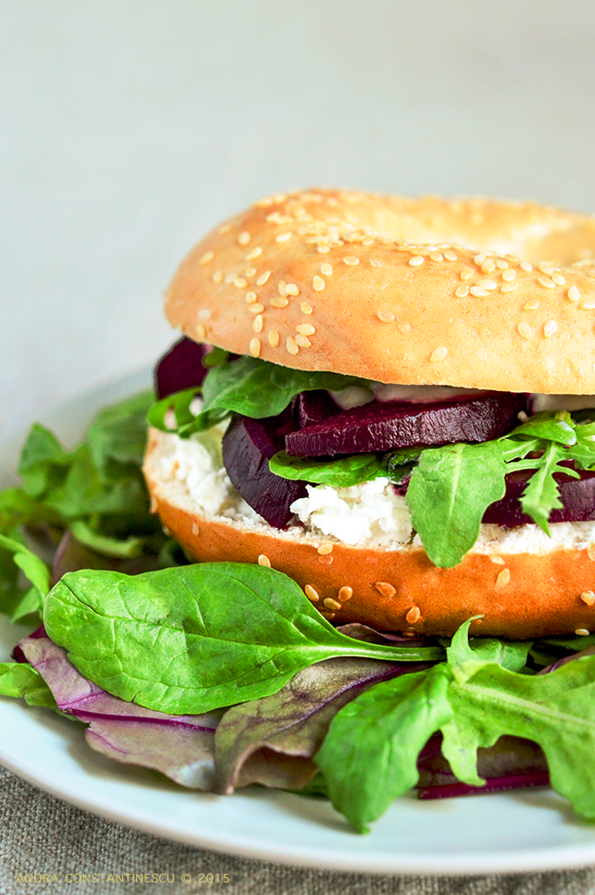beetroot-horseradish-bagel