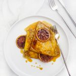 Blood Orange Crepes Suzette