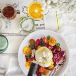 Low Calorie Brunch: Burrata, Radicchio and Blood Orange Salad